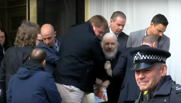 detención de Assange
