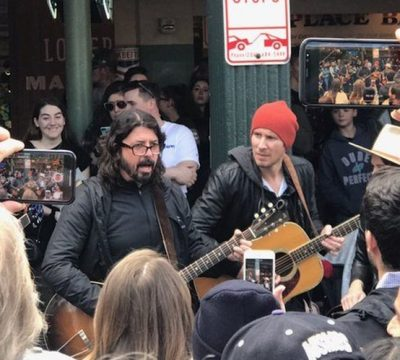 dave grohl show sorpresa the beatles