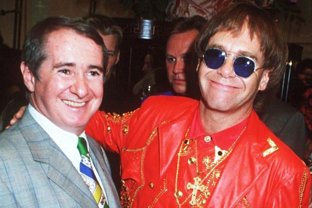John Reid y Elton John.