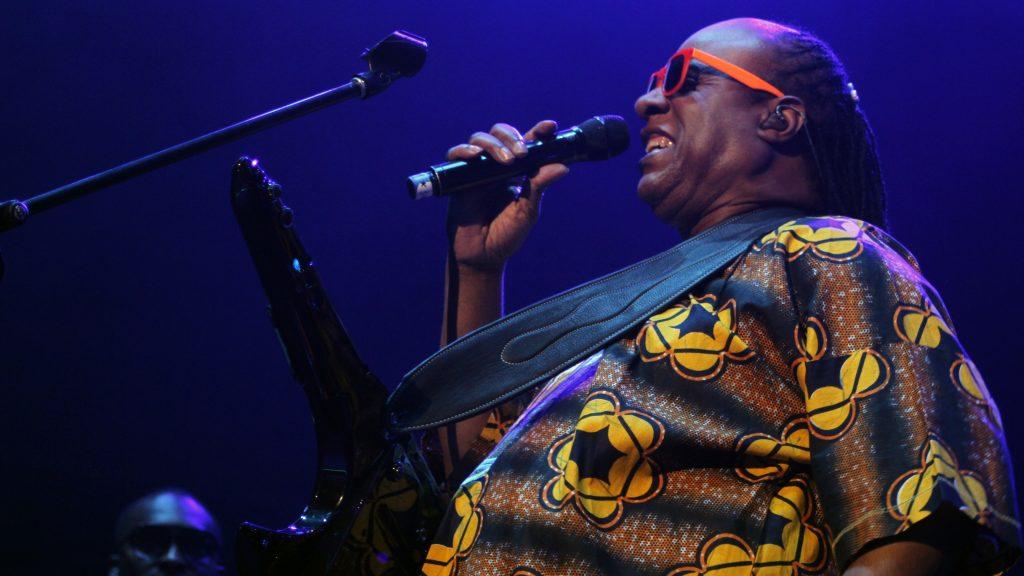 Stevie Wonder, Movistar Arena, 2013 - Foto: Erick Bustamente @thecircusphotorock