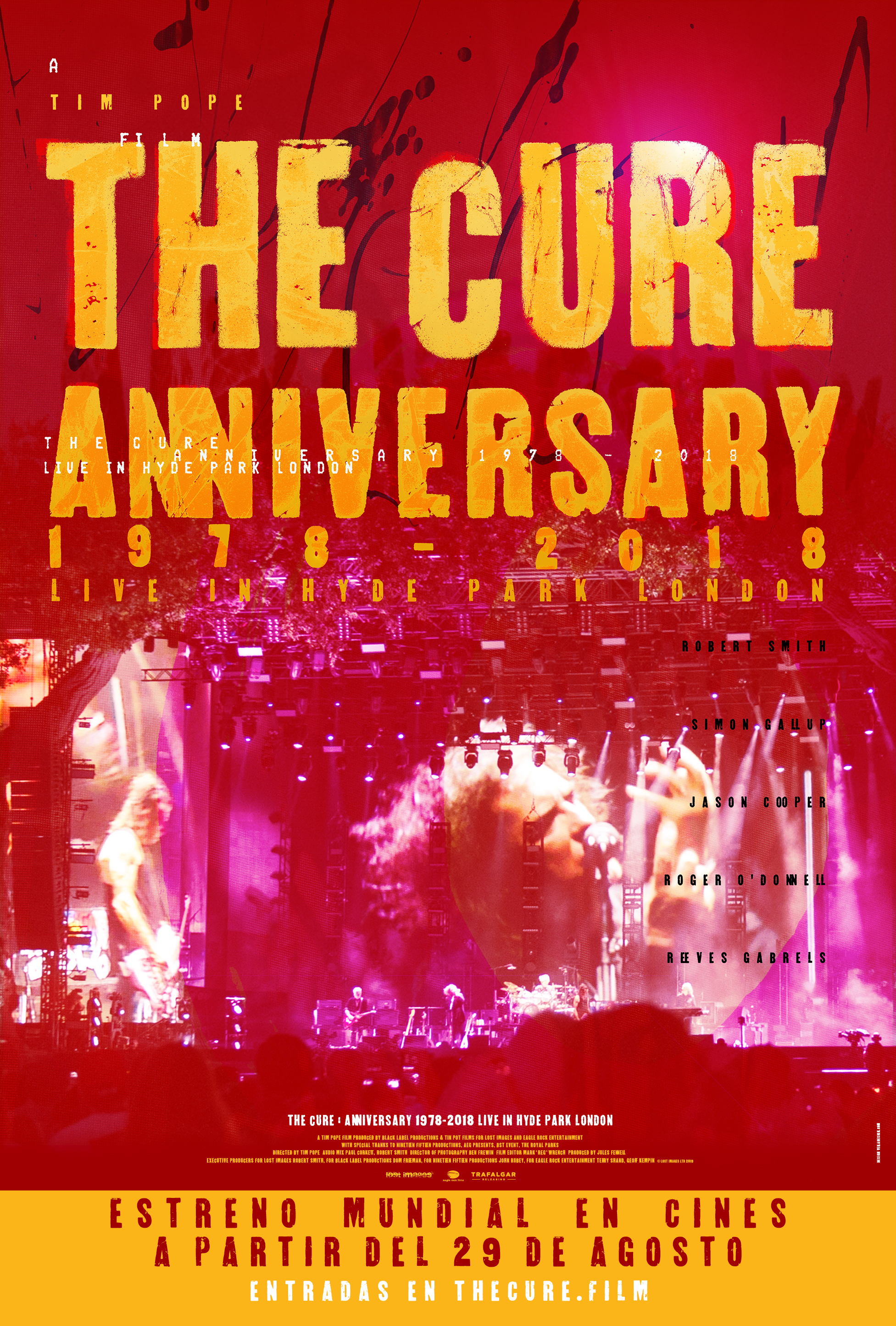the cure pelicula chile