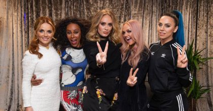 adele con spice girls