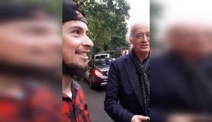 jimmy page musicos chilenos