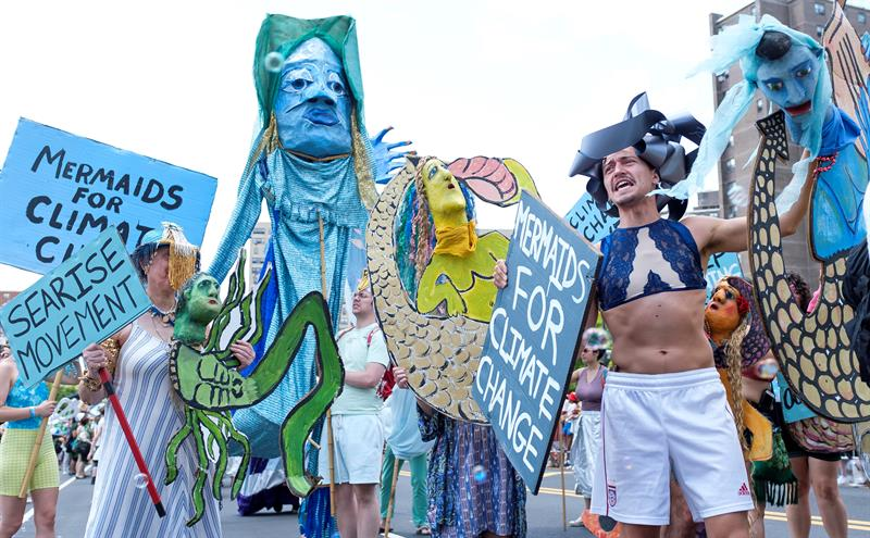 mermaid parade nueva york