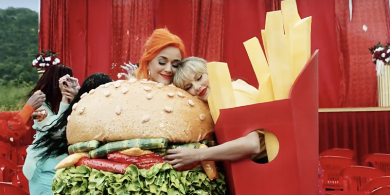 taylor swift katy perry video