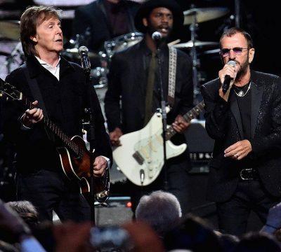 Ringo Star y Paul McCartney se reunen