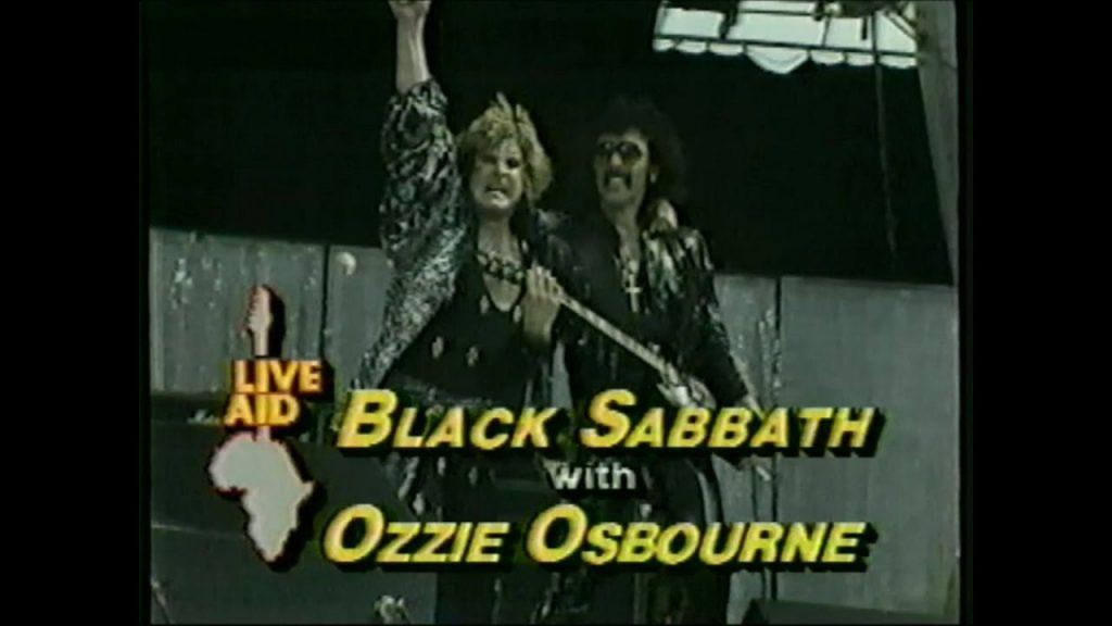 black sabbath ozzie osbourne