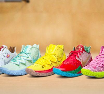 Así son las zapatillas inspiradas en los personajes de Bob