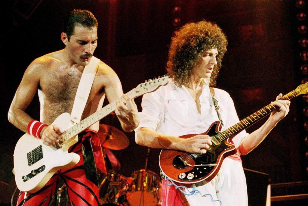 Brian May fue nombrado el mejor guitarrista de todos los tiempos