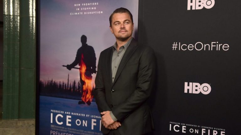 DiCaprio ice on fire