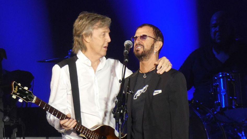 Paul McCartney y Rigno Star
