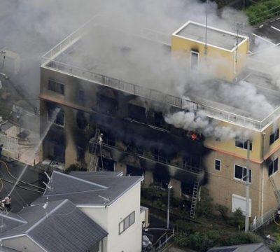 incendio kioto