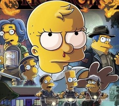 los simpson stranger things