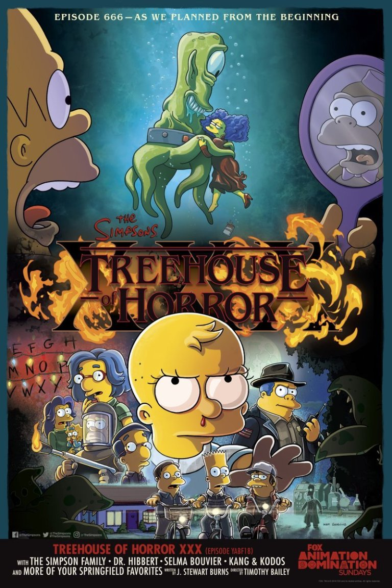 llos simpson stranger things