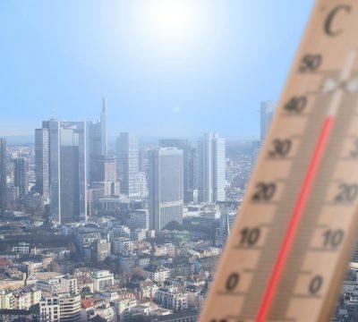 Julio altas temperatura