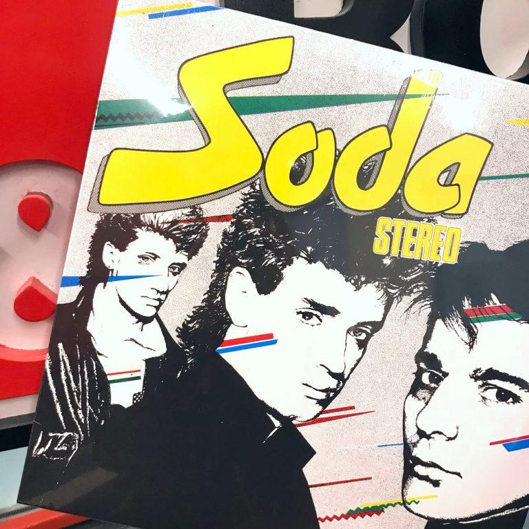SODA stereo vinilo concurso