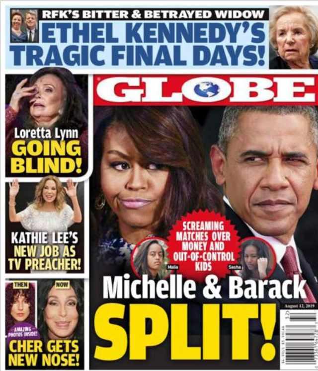 michelle y barack obama globe