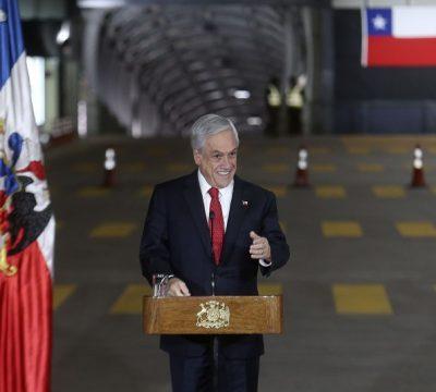 Piñera paso los libertadores