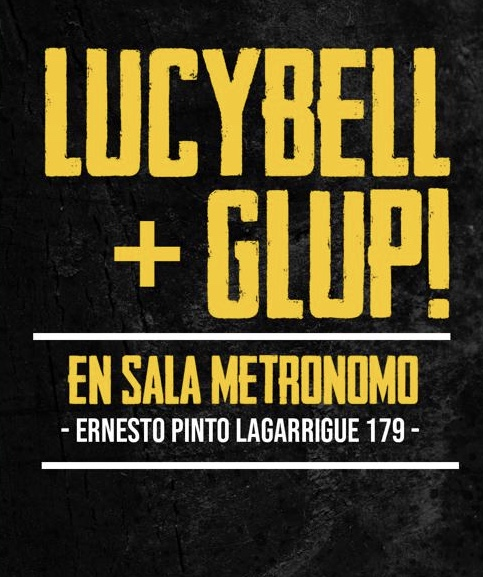 Lucybell y Glup show sorpresa