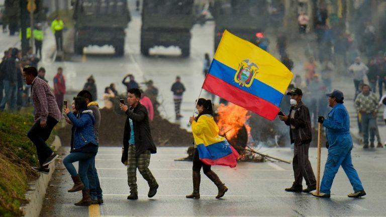 ecuador cambio sede gobierno