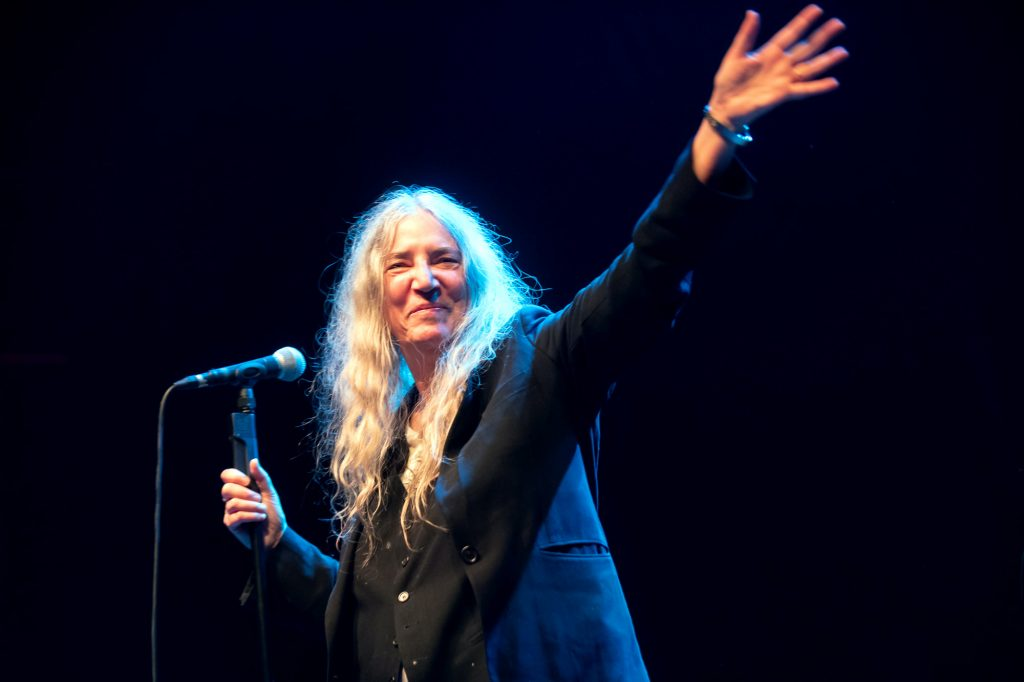 Patti Smith debut en Chile