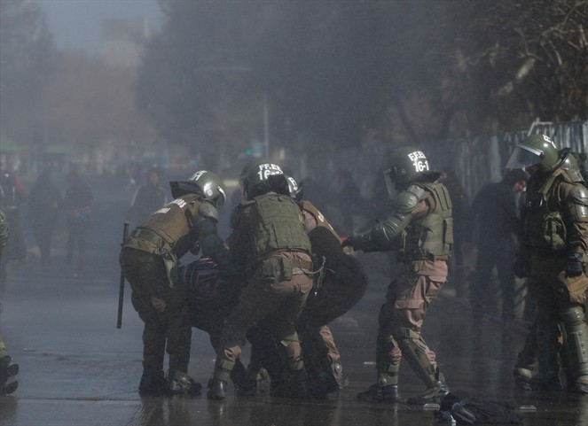 Rancagua se une a comunas que limitan uso de fuerza a Carabineros durante las marchas - RockandPop