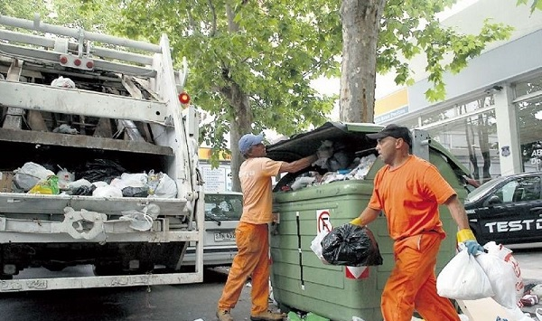 paro recolectores basura santiag