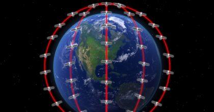 constelaciones de satelites por internet