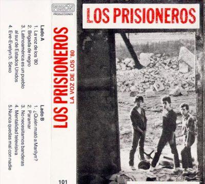 los prisioneros la voz de los 80 cassette