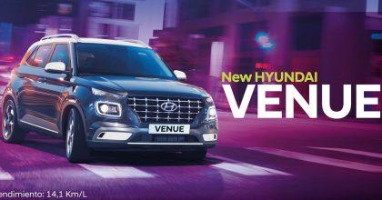 muévete a tu propio ritmo con Venue de Hyundai