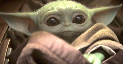 Baby Yoda revoluciona la internet luego de juntarse con George Lucas