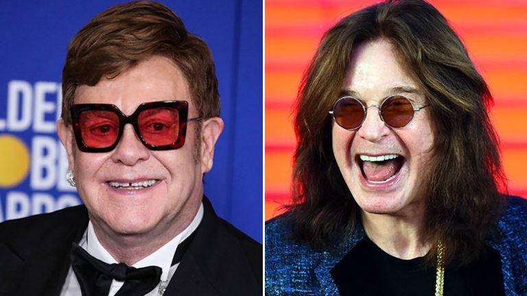 Ozzy Osbourne está trabajando junto a Elton John en una canción nueva