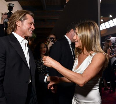 Jenniffer Aniston y Brad Pitt