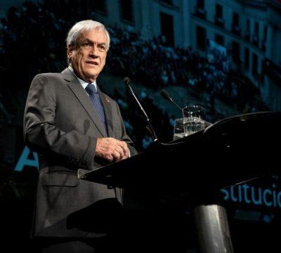 Sebastián Piñera da a conocer sus principios para una nueva Constitución