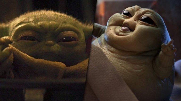 Hazte a un lado, Baby Yoda. ¡Ahí viene Baby Jabba y es más tierno que tú!