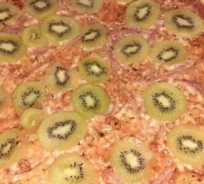 Kiwi+Pizza: La combinación culinaria que desató la guerra en internet