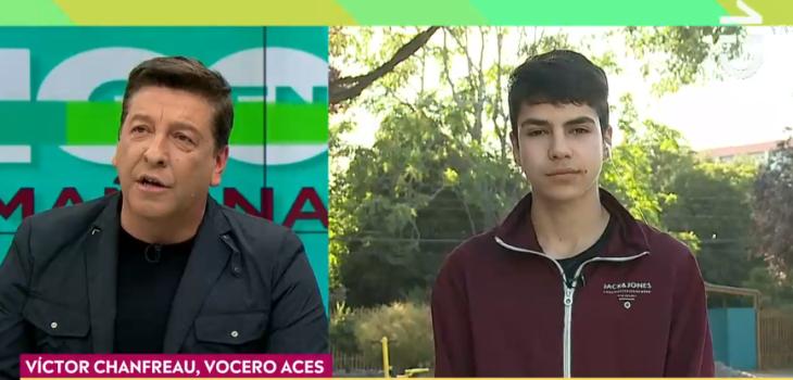Julio César Rodríguez discute con vocero de la ACES durante entrevista