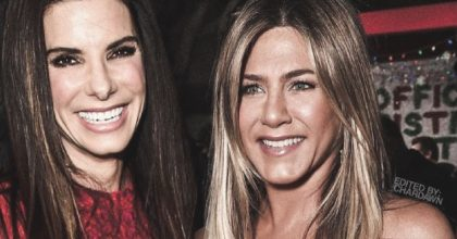 Jennifer Aniston cumplió 51 años conversando junto a Sandra Bullock