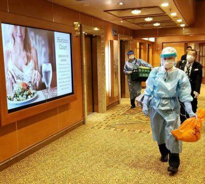 Coronavirus: Hay 542 casos de contagios en el crucero Diamond Princess