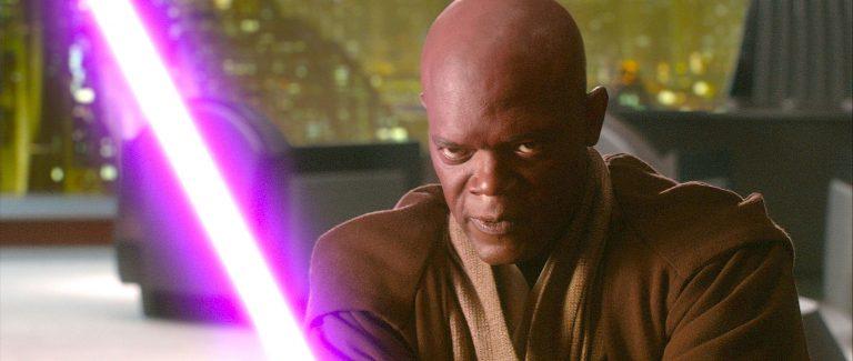 Mace Windu - Star Wars - Sable morado
