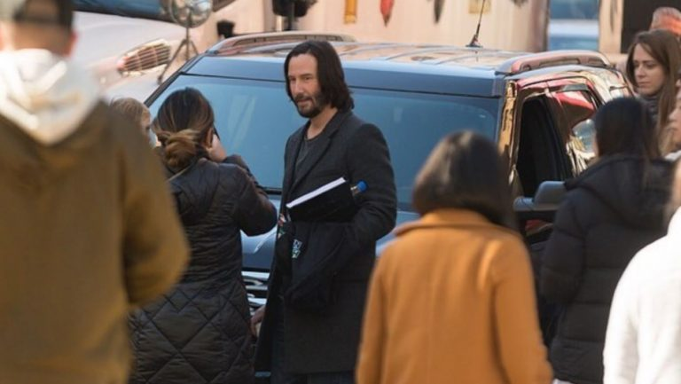 Matrix rodaje Keanu Reeves