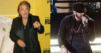 Al Pacino todo un lolosaurio: Dice que ama a Eminem desde su show en los Oscars 2020