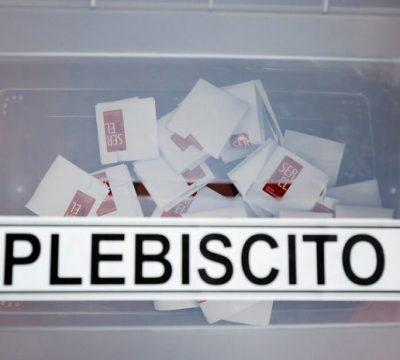 papeletas plebiscito 26 de abril