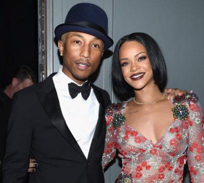 Rihanna anuncia que está trabajando en nuevo disco con Pharrell Williams