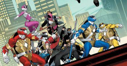 Las Tortugas Ninjas se unirán a los Power Rangers en un cómic crossover