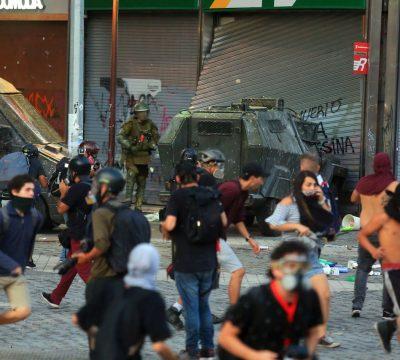 Con casi 500 personas detenidas en manifestaciones terminó la jornada de ayer