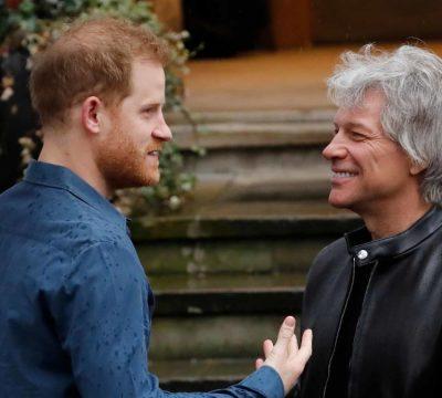 Principe Harry y Bon Jovi