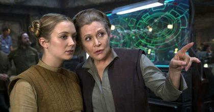 """El nuevo documental de """"Star Wars"""" muestra a la hija de Carrie Fisher filmando las escenas de Leia"""