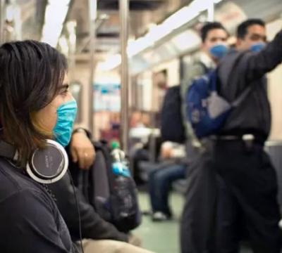 mascarillas en transporte publico