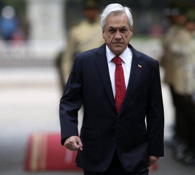 Aprobación de Piñera disminuye a 19% según Cadem